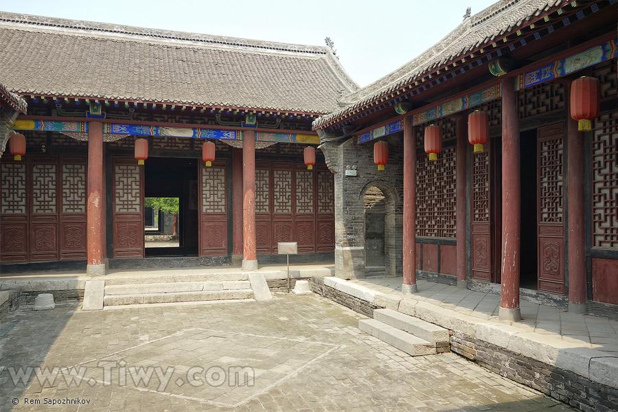 Wu Yuxiang residence, Guangfu Ancient City, Hebei Province